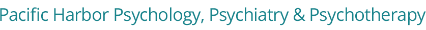 Pacific Harbor Psychology, Psychiatry and Psychotherapy Logo